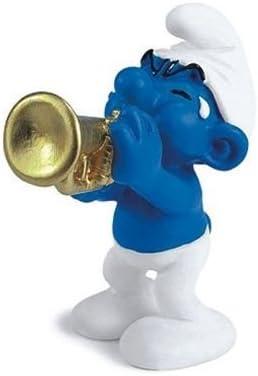 Schleich - 20539 - Figurine - Schtroumpf Musicien   Paquet Solide Et élégant