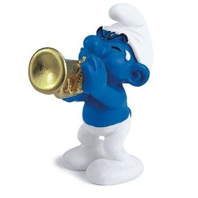 Schleich - 20539 - Figurine - Schtroumpf Musicien