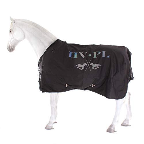 HV Polo Outdoordecke Regendecke mit Fleece Größe/Farbe 145cm / schwarz
