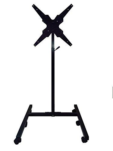 Smart Shelter Metal LCD/LED/Plasma TV Height Adjustable Floor Mount Stand/TV Trolley/Cart