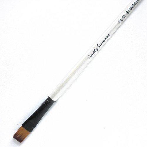 Robert Simmons Simply Simmons Short Handle Brushes flat shader 0
