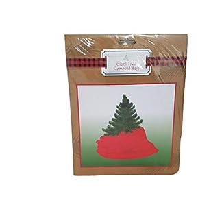 Generic-Weihnachtsbaum-Entsorgungsbeutel-Entfernungs-und-Aufbewahrungstaschen-fr-Bume-bis-zu-21-m-hoch-Set-mit-2-Mllbeuteln-Rot-und-Wei-2436-x-1194-cm