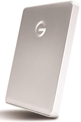 G-Technology 0 g10264 1 TB G-Drive Mobile USB-c Portable Hard Drive – Silber