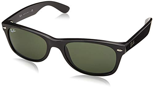 Ray-Ban Polarized Wayfarer Men's Sunglasses - (0RB2132901/5858|57 Crystal Green Polarized lens)