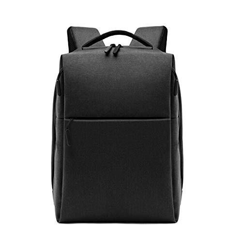 Arrivly Rucksack Herren Und Damen Schwarz Business Backpack mit Laptopfach für Arbeit Wasserdicht Modern Jugendliche Daypack Studenten Rucksäcke Laptop Tasche |20-35 Liter| Wasserfest Leicht Mit USB
