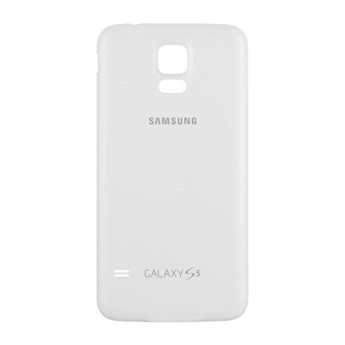 OEM Samsung Galaxy S5 SM-G900 Battery Door Back Cover Replacement - Shimmery White (Samsung Logo)  available at amazon for Rs.1518