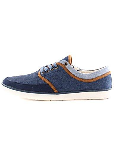 6to5 - Basket tissus pas chère homme 6to5 11670-1 Bleu Bleu