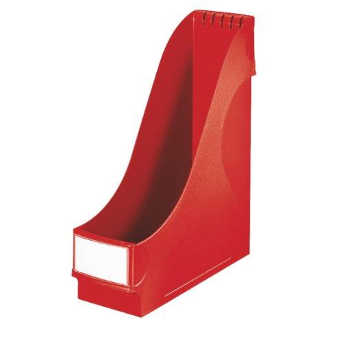 Preisvergleich Produktbild Leitz 24250025 Stehsammler, extrabreit, A4, Kunststoff, rot