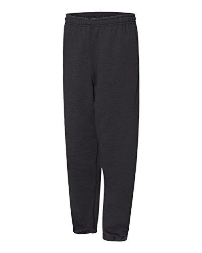 Russell Athletic Men's Dri-Power Closed-Bottom Fleece Pocket Pant - Small - Black (US)