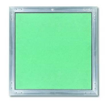 PLACO - Trappe de visite alu/plaque invisible après pose Hydro 600X600mm - T119665