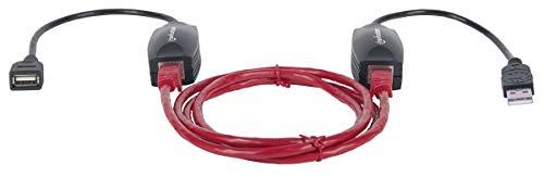 Manhattan USB Line Extender Vergrößert die Reichweite von USB-Geräten auf bis zu 60 m 179300 Über Usb