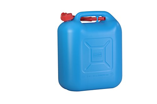 Preisvergleich Produktbild hünersdorff Kraftstoff-Kanister Standard 20l für Benzin, Diesel und Andere Gefahrgüter, UN-Zulassung, Made in Germany, Tüv-geprüfter Produktion, Blau