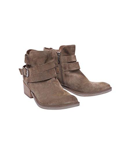 Janet & Janet Chaussures Femme Bottes Bottines Boots-Modal-Marron Tortora