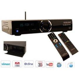 Redline TS-4000 HD Sat Receiver Freier Empfang Ideal Astra Hotbird Türksat Eutelsat usw. Kompatibel WiFi 3G IPTV Linux