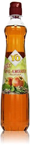 Yo Sirup Apfel-Almkräuter, (1 x 700 ml)