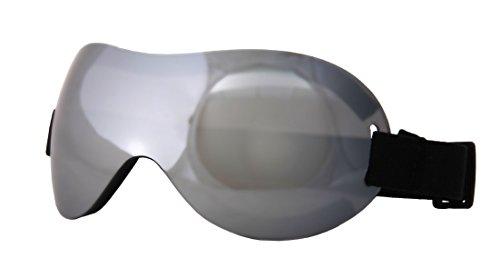 Motoko Costume Goggles Adult: Silver One Size (Motoko Cosplay Kostüm)
