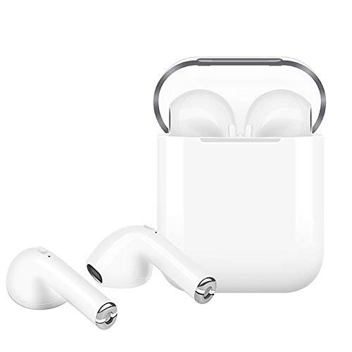 Auriculares Bluetooth Auriculares inalámbricos Auriculares Deportivos Auriculares con reducción de Ruido Auriculares intrauditivos HiFi con micrófono, Compatible con teléfonos Inteligentes