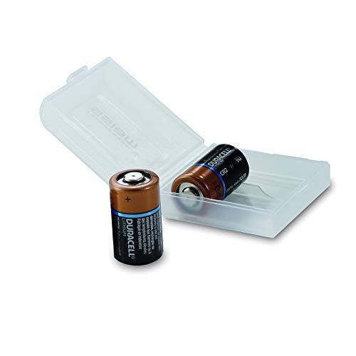 Duracell High Power Lithium CR2 Batterie 3 V in 2er-BOX von WEISS - more power +, entwickelt für Verwendung in Sensoren, schlüssellosen Schlössern, Blitzlicht und Taschenlampen. -