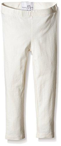 Happy Girls Mädchen Legging Basic Jersey, Einfarbig, Gr. 116, Elfenbein (ecru 11) (Leggings Mädchen Jersey)