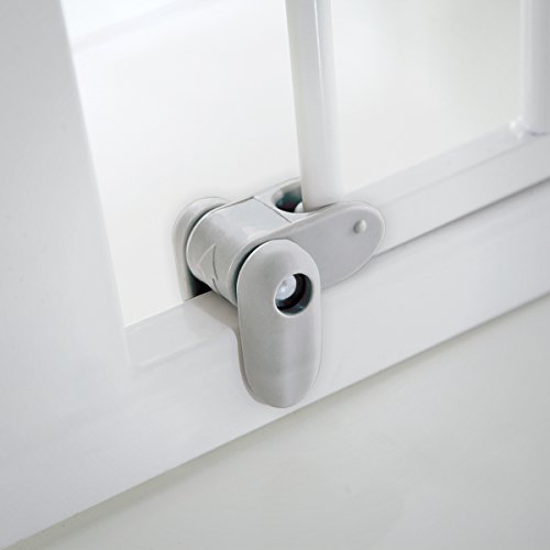Lindam Sure Shut Axis Pressure Fit Safety Gate 76 - 82 cm, White Lindam
