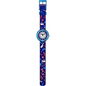 Flik Flak Jungen Analog Quarz Uhr mit Textil Armband FBNP131