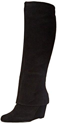 jessica-simpson-rallie-damen-us-75-schwarz-mode-knie-hoch-stiefel