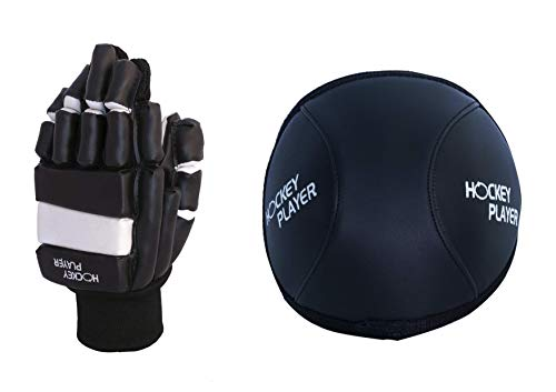 HOCKEYPLAYER Pack Guantes Rodilleras Jugador Hockey