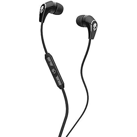 Skullcandy Supreme Sound 50/50 - Auriculares in-ear (con micrófono, control remoto integrado), negro y