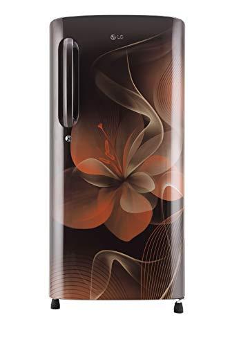 LG 190 L 4 Star Inverter Direct-Cool Single-Door Refrigerator (GL-B201AHDX,...