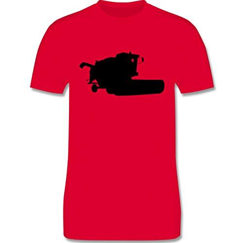 Andere Fahrzeuge - Mähdrescher - Herren Premium T-Shirt Rot
