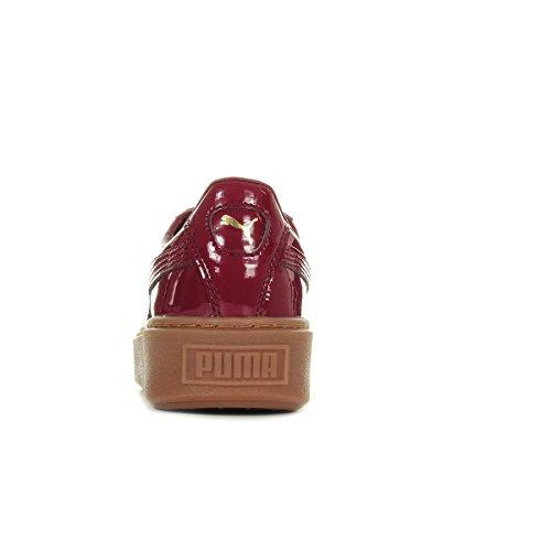 Puma Basket Platform Patent, Scarpe da Ginnastica Basse Donna Bordeaux