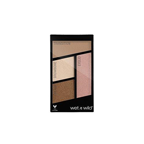 Wet n Wild Color Icon Eyeshadow Quads, Walking On Eggshell, 4.5g