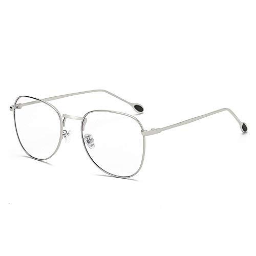 Sonnenbrillen Mode Blaue Glasrahmen, um alte Weisen Wieder herzustellen Flache Glasrahmen Waren Männer und Frauen LUE Shading Glasses für Sutdents/Büroangestellter