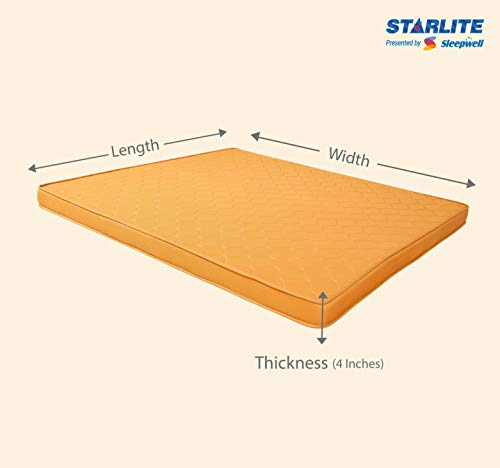 Sleepwell Starlite Select Extra Firm Coir Mattress (75x60x4) Image 6