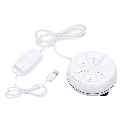 3in1 Mini Waschmaschine Tragbare Persönliche Rotierende Ultraschall Turbine Washer Einstellbar mit USB-Kabel Bequem für Reise Home Business Trip