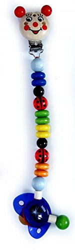 hess-13622-cadena-de-madera-de-clip-para-chupete-diseno-escarabajo