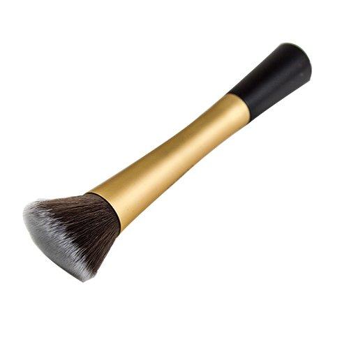 Blush Poudre Cosmétique Pointillé Pinceau Fond De Teint Outil De Maquillage Doré Modèle1049
