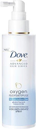 Dove Advanced Hair Series Volumen Spray Kur Oxygen Feuchtigkeitspflege, 150 ml