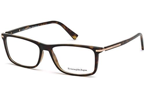 ermenegildo-zegna-ez5041-rechteckig-acetat-herrenbrillen-dark-havana052-a-55-15-145