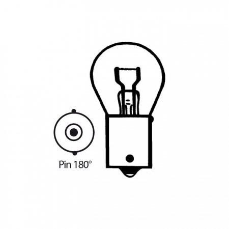 Preisvergleich Produktbild Blink- u. Bremslampe 6V/21W, Ba15s