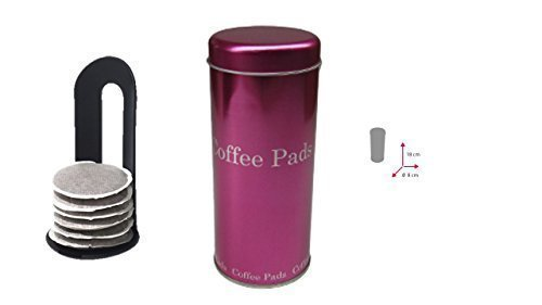 Kaffeepad-Dose pink