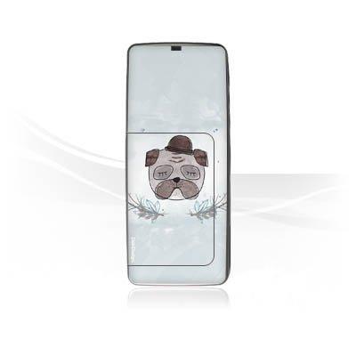 DeinDesign Nokia E 60 Case Skin Sticker aus Vinyl-Folie Aufkleber Mops Hund marenkruth Mop Heads 60