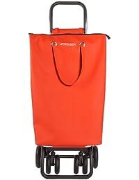 Rolser Einkaufsroller Logic Tour/superbag - Maleta, color rojo, talla 39.5 x 32.5 x 106 cm