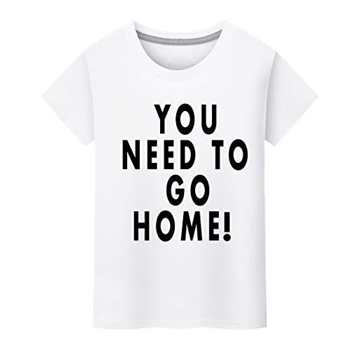 EUCoo Uomo T-Shirt Manica Corta O Colletto Stampa di Lettere Tee Moda vestibilità Slim Camicia Tops