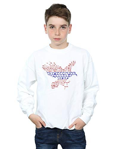 Absolute Cult Drewbacca Jungen American Eagle Sweatshirt Weiß 9-11 Years American Eagle Sweatshirt