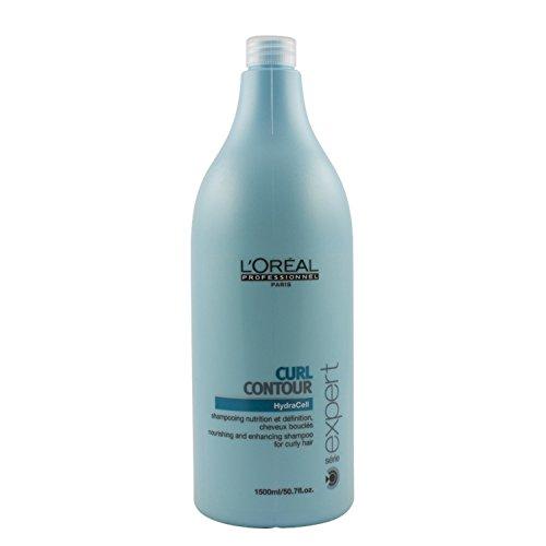 L'Oréal Professionnel Serie Expert Glycerin Curl Contour Shampoo, 1er Pack (1 x 1500 ml)