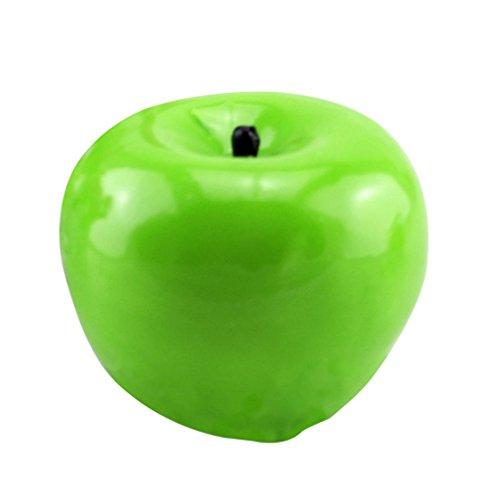 Rocita Nacidad Forma de Manzana Verde Fruta Velas perfumadas la decoración del hogar Vela de la Navidad
