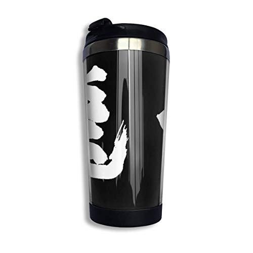 Fly - Haikyuu White Isolier-Edelstahlbecher 13.5oz Coffee Travel Mug