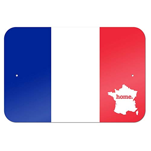 France Home Country Blechschild, 30,5 x 45,7 cm, Flagge -