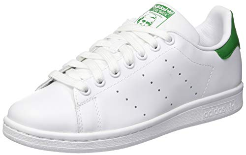 Adidas Originals Stan Smith - Baskets mode Mixte Adulte - Blanc (Running White Ftw/Running White/Fairway) - 42 2/3 EU